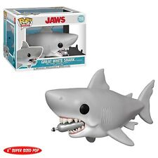 """Funko - Pop Movies: Jaws - 6"""" Jaws with Diving tank Brand New In Box"""