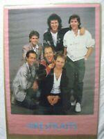 DIRE STRAIT BRITISH ROCK VINTAGE POSTER GARAGE 1985 CNG949