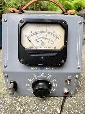Rare 1940s Hewlett Packard Model 400a Vacuum Tube Voltmeter