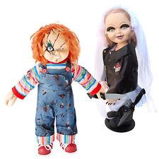 "Bride of Chucky Movie Collectibles: Chucky & Tiffany 24"" Plush Doll Set"