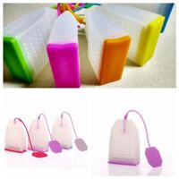 Kitchen Tools Silicone Strainer Spice Diffuser Bag Tea Filter Herbal Infuser