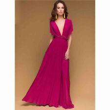 Sexy Women Multiway Wrap Convertible Boho Club Maxi Dress Bridesmaid Dresses new