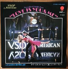 "Cindy Fee ‎– Love Is You And Me VSOP America Japan 7"" Vinyl EWR-20682"