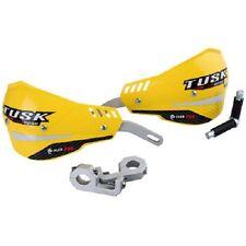 "Tusk D Flex Pro Handguards 1 1/8"" Bars Yellow Motorcycle Dirt Bike Hand Guards"