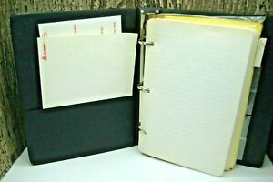National Brand Binder with Paper Dividers Dennison Stationary Productions