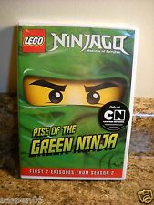 LEGO Ninjago: Masters of Spinjitzu - Rise of the Green Ninja (DVD, 2012) NEW