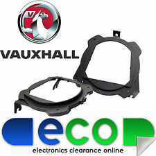 "CT25VX03 Vauxhall Corsa C 2000-2006 Rear Side Speaker Brackets Rings 5.25"" 13cm"