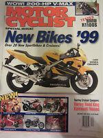 Motorcyclist Magazine December 1998 New Bikes '99 Touring Cruiser Comparo Harley