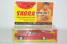SABRA CRAGSTAN GAMDAKOOR 8103 CHEVROLET IMPALA RED MINT BOXED RARE SELTEN!!