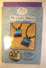 Modern WAVES Necklace Quilling Kit Makes 2 Q281