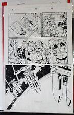 AUTOMATON # 2 PAGE # 22 1998 ORIGINAL COMIC ART BY PETER VALE-IMAGE COMICS Comic Art