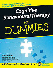 Cognitive Behavioural Therapy For Dummies by Rob Willson Book CBT Excellent Con