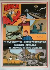 BRICK BRADFORD - IL CLANDESTINO collana gertie daily 120 comic art 1981