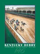 "2020 Official Kentucky Derby Poster 18""x24"" NEW FREE USA INSURED PRIORITY SHIP"