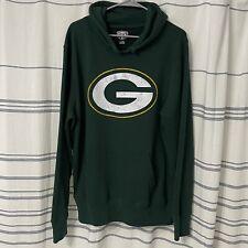 New listing Green Bay Packers Men's Hoodie XL NFL Football Apparel Dark Green