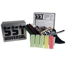 Ski & Snowboard Tuning Universal Tuning Kit - Wax P-Tex Cork Tune Service Tin