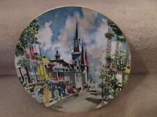 New Orleans French Quarter Dong Kingman Ltd Ed Collector Plate Ltd Ed 10 Inch