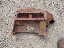 Farmall Cub Ih Rc Tractor Bottom Radiator Bolster Tank Crank Alignment 350886r2