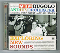 ♫ PETE RUGOLO & HIS ORCHESTRA - EXPLORING NEW SOUNDS - 2 CD SET TRÈS BON ÉTAT ♫