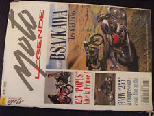 ** Moto Légende n°48 Poster Motobécane D45 S , Terrot Ténor , Peugeot P55