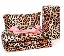 Victoria's Secret PINK! Bed in a Bag Leopard Grey Pink Twin/ Twin XL, RARE, NEW!