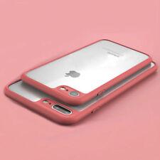 Case Cover iPhone 7 & 7 Plus SLIM THINNEST Crystal Clear Bumper TPU Ultra Thin