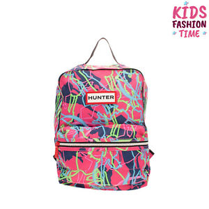 HUNTER X DISNEY Backpack Mary Poppins Pattern Padded Back & Straps Zipped