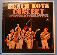 BEACH BOYS CONCERT TAO-2198 VINYL LP '64 MONO ORIG BOOKLET GREAT COND! VG+/VG+!