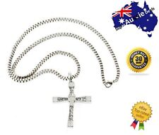 Alloy unisex metal cross necklace accessories clavicle domineering religious