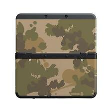 New 3DS Cover Face Plate GREEN CAMOUFLAGE no.18 Super Mario Bros *NEW* RARE SALE