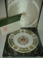 Spode The Green Howards' Plate Limited Edition with COA & Box