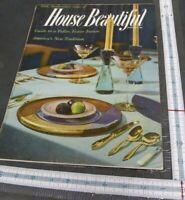 January 1957 House Beautiful magazine