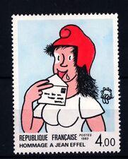 FRANCIA - Quadri di Francia - 1983 - Omaggio a Jean Effel, Caricaturista