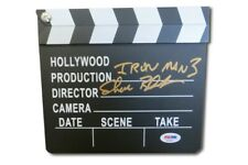 Shane Black Signed Autographed Mini Movie Clapper Iron Man 3 PSA AE83523