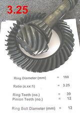 BMW E30 E36 E28 E24 Differential *3.25 Ratio*  Ring & Pinion 188mm Gears LSD