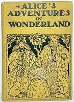 1919 1st ED first ALICE IN WONDERLAND Alice's A E JACKSON Adventures CARROLL usa