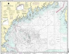 NOAA Chart Bay of Fundy to Cape Cod 41st Edition 13260