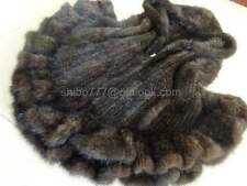 Waist Length Fur Plus Size Waistcoats for Women