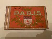 Vintage Paris France Series II Postcard Book