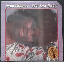 IRMA THOMAS - THE NEW RULES STILL SEALED US PRESS ROUNDER REC. 2046 FUNK SOUL