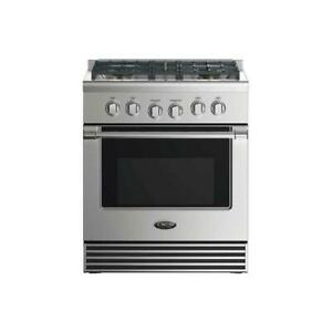 """DCS 30"""" Gas Range with 4 Burners, 4.6 cu. ft. Convection Oven, LP"""