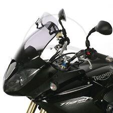 Parabrezza grigio per moto Triumph