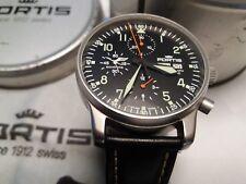 FORTIS Flieger Chronograph Automatic  597.10.11 limitiert mit Lufthansa-Kranich