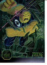 MARVEL FLAIR ANNUAL 95 CHROMIUM CARD 4 OF 12