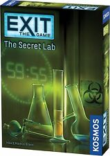 The Secret Lab Exit The Game Escape Room Game Thames & Kosmos