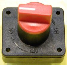 12-24V 300 A Batterie-Hauptschalter Trennschalter Lastschalter KFZ Audio Solar