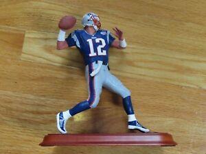 TOM BRADY No. 12 NEW ENGLAND PATRIOTS Super Bowl XXXVI MVP Danbury Mint Statue