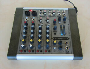 Soundcraft Compact 4, Audio-Mixer, Mischpult