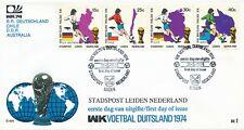 Stadspost Leiden (nr. 1) - 1974 - WK - Blanco / Open klep