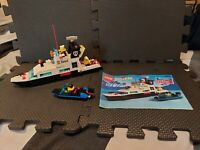 LEGO 6483 Coastal Patrol Vintage Rare with Instructions